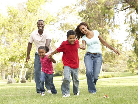 Family play in the park  | The Reserve in Rohnert Park, CA 94040