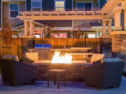 Warm by the Fire at The Reserve in Rohnert Park, CA 94040