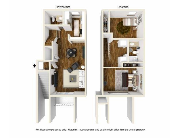 2-1.5 Floor Plan 3