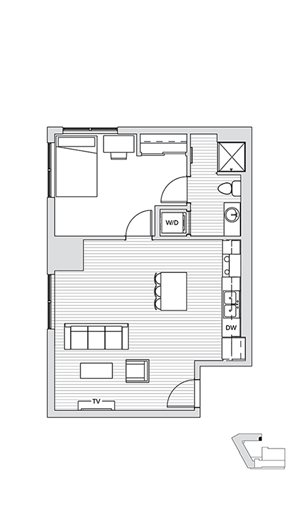 1 Bedroom L4