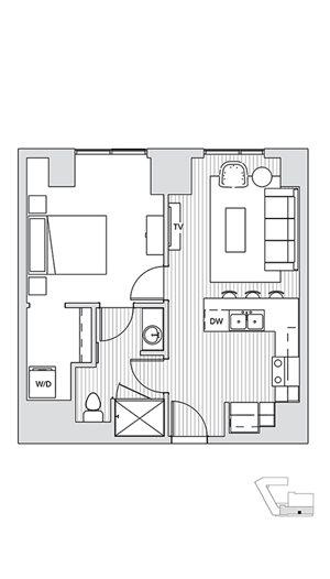 1 Bedroom T1