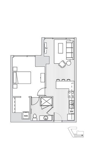 1 Bedroom T7