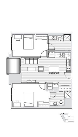 2 Bedroom L1