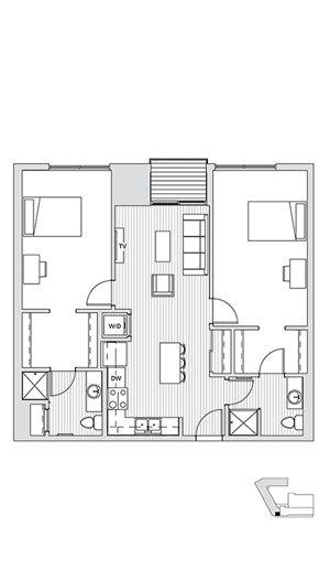 2 Bedroom L2/L3/L4