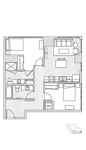 2 Bedroom T4