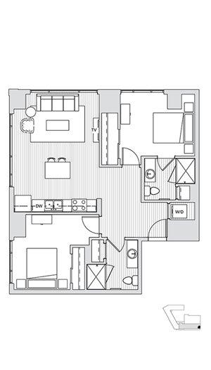 2 Bedroom T5