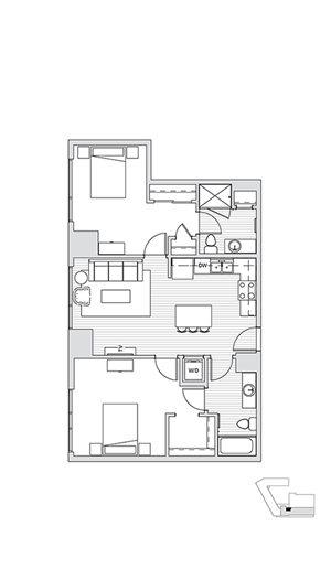 2 Bedroom T6