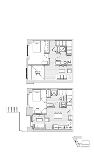 2 Bedroom Townhouse 2