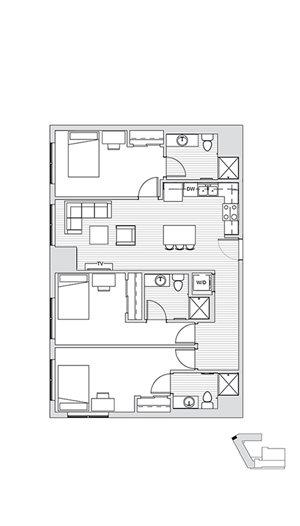 3 Bedroom L3