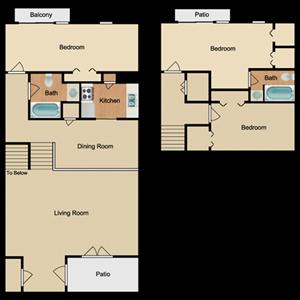 3 Bed 2 Bath Cottage