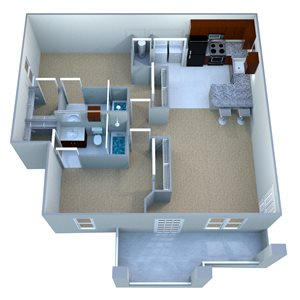 Custom Deluxe III Executive Suite - Fully Furnished & Paid Utilities