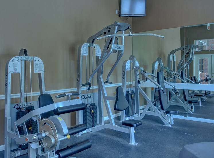 Luxury apartments in Norcross | Arbor Mill Apartments | Fitness Center