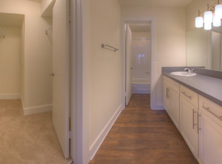 Luxury apartments in Norcross | Arbor Mill Apartments | Large Bathrooms and Closets