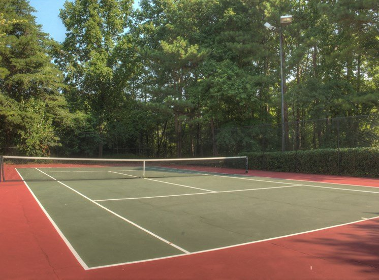Luxury apartments in Norcross | Arbor Mill Apartments | Tennis Court