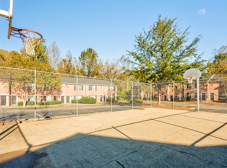 Basketball Court at Bethabara Pointe