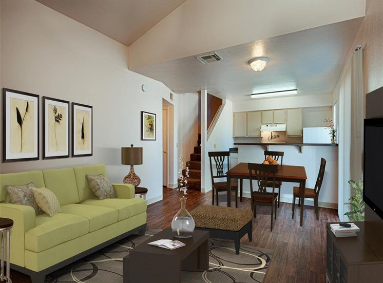 Upgraded Modern Interiors at Paseo Del Sol Townhomes, 6280 S. Campbell Avenue