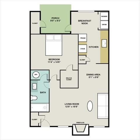 THE COTTAGE Floor Plan 4