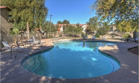 Resort-Style Pool at The Colony Apartments, Casa Grande, AZ