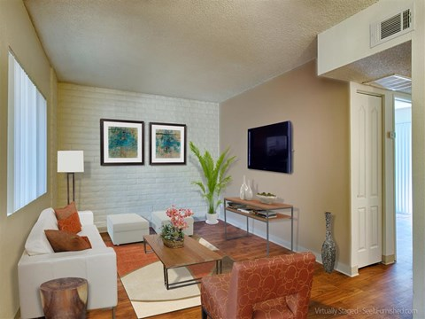 Upgraded Interiors at Fountain Plaza Apartments, Tucson, 85712
