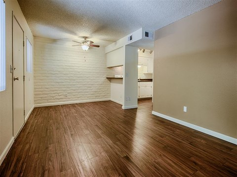 Gorgeous Parquet Wood Flooring at Fountain Plaza Apartments, 2345 N. Craycroft