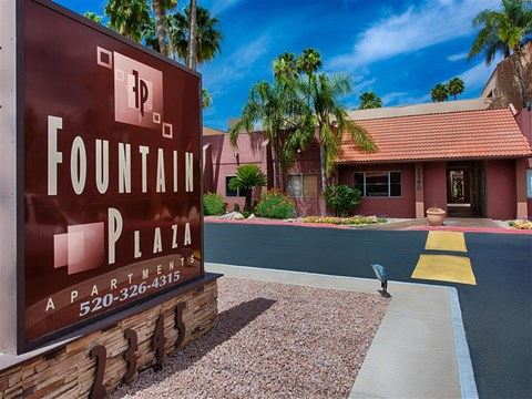 Access Controlled Community at Fountain Plaza Apartments, AZ, 85712