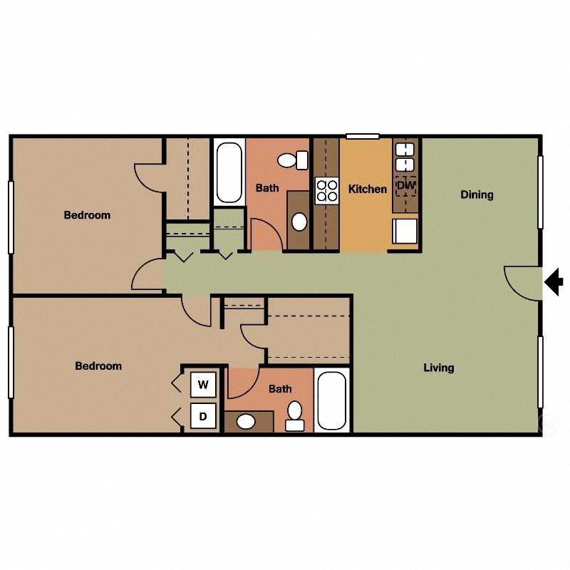 Madagascar Floor Plan at The Encore on the Bay at Seabrook, Texas, TX