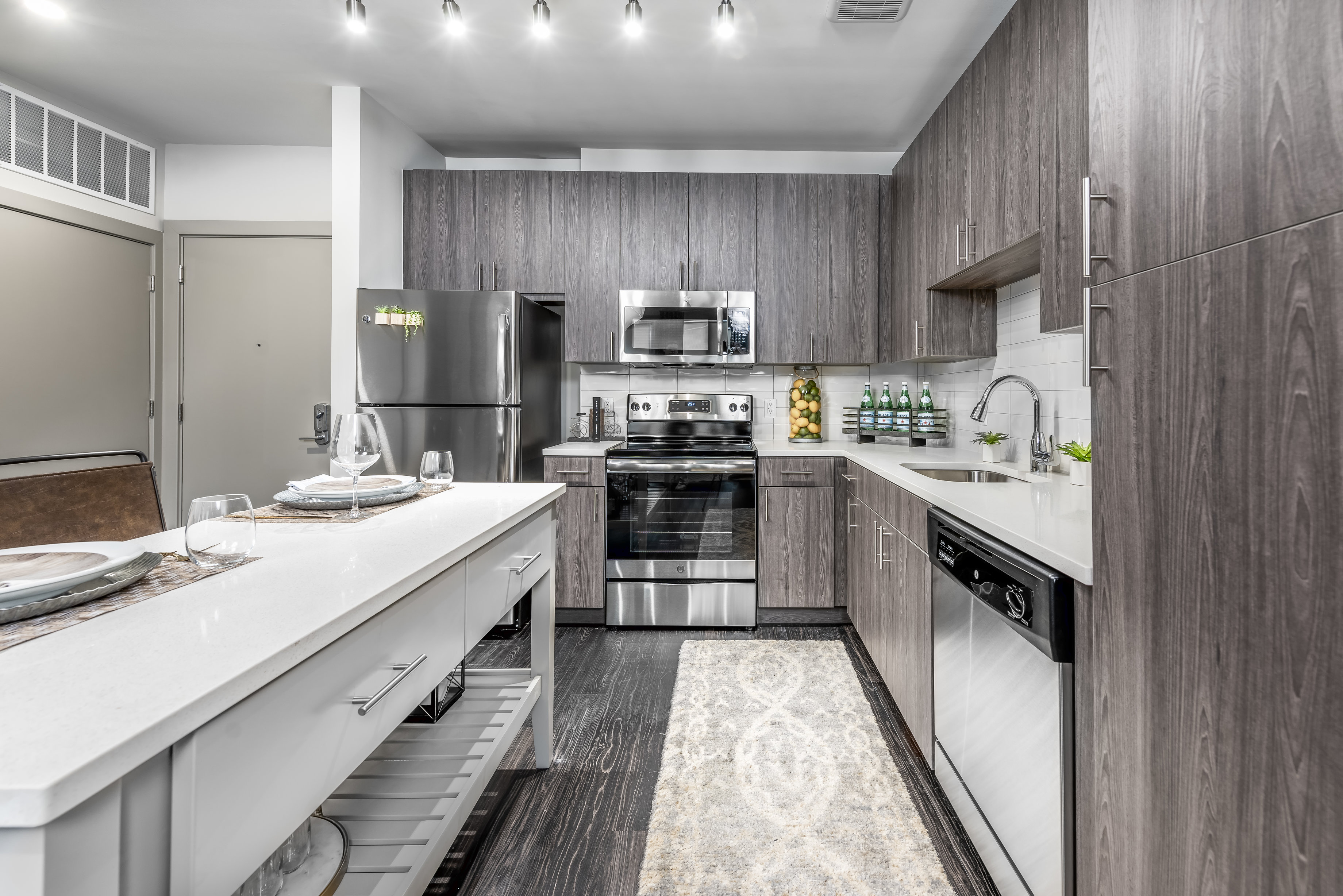 All Electric Kitchen at The Edition, Maryland, 20782