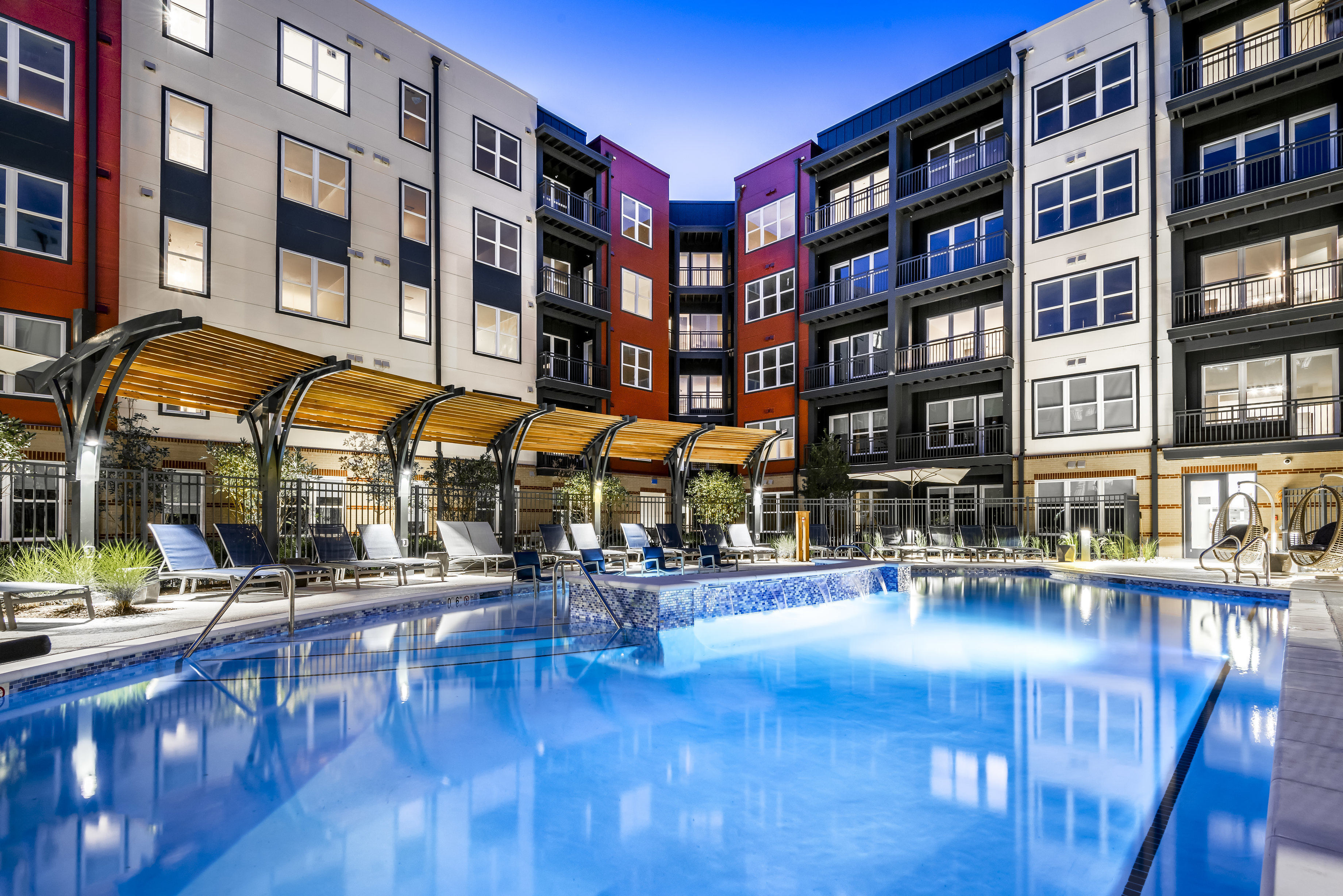 Resort-Style-Entry Pool at The Edition, Hyattsville, MD, 20782