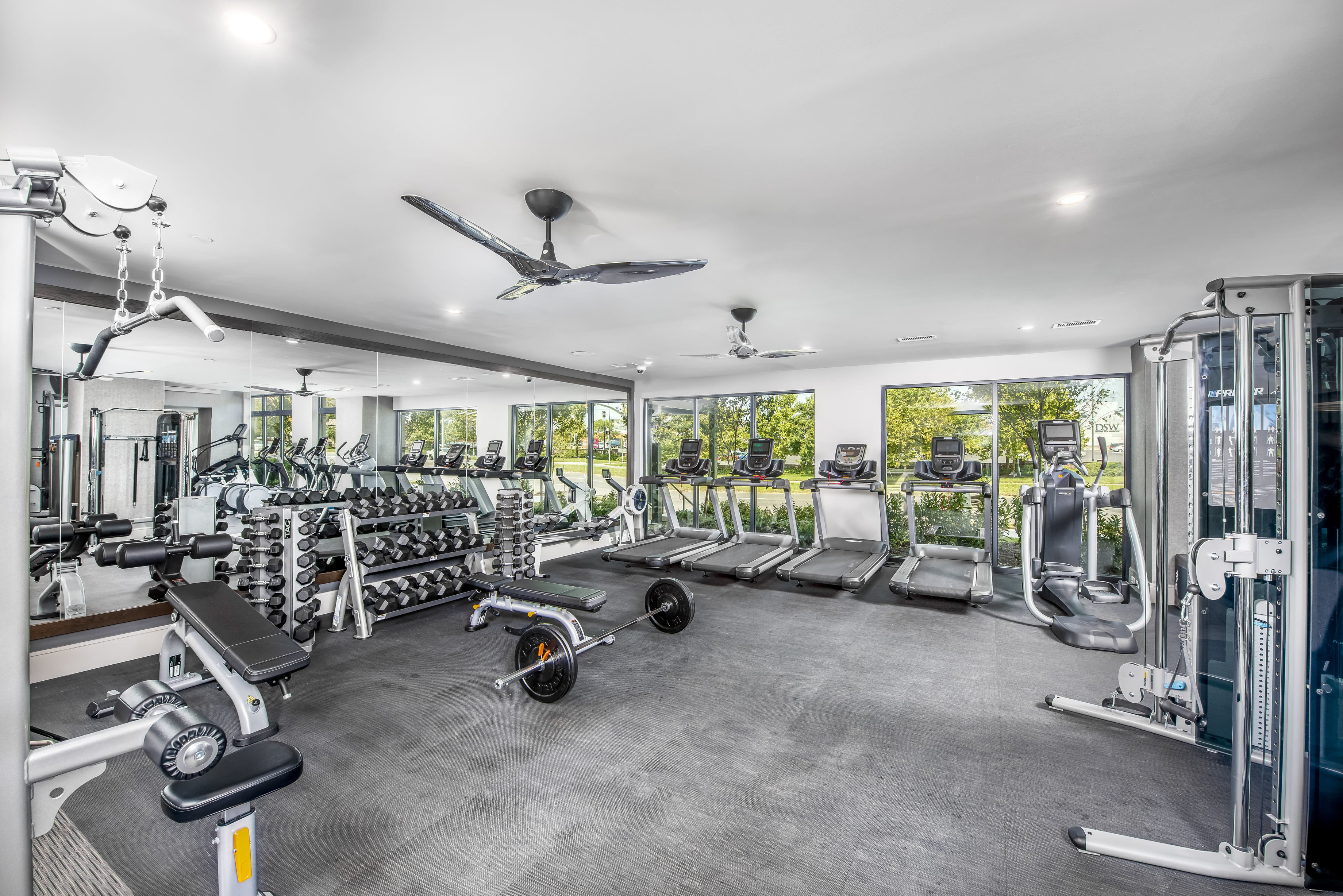 Fitness Center with updated equipment at The Edition, Hyattsville
