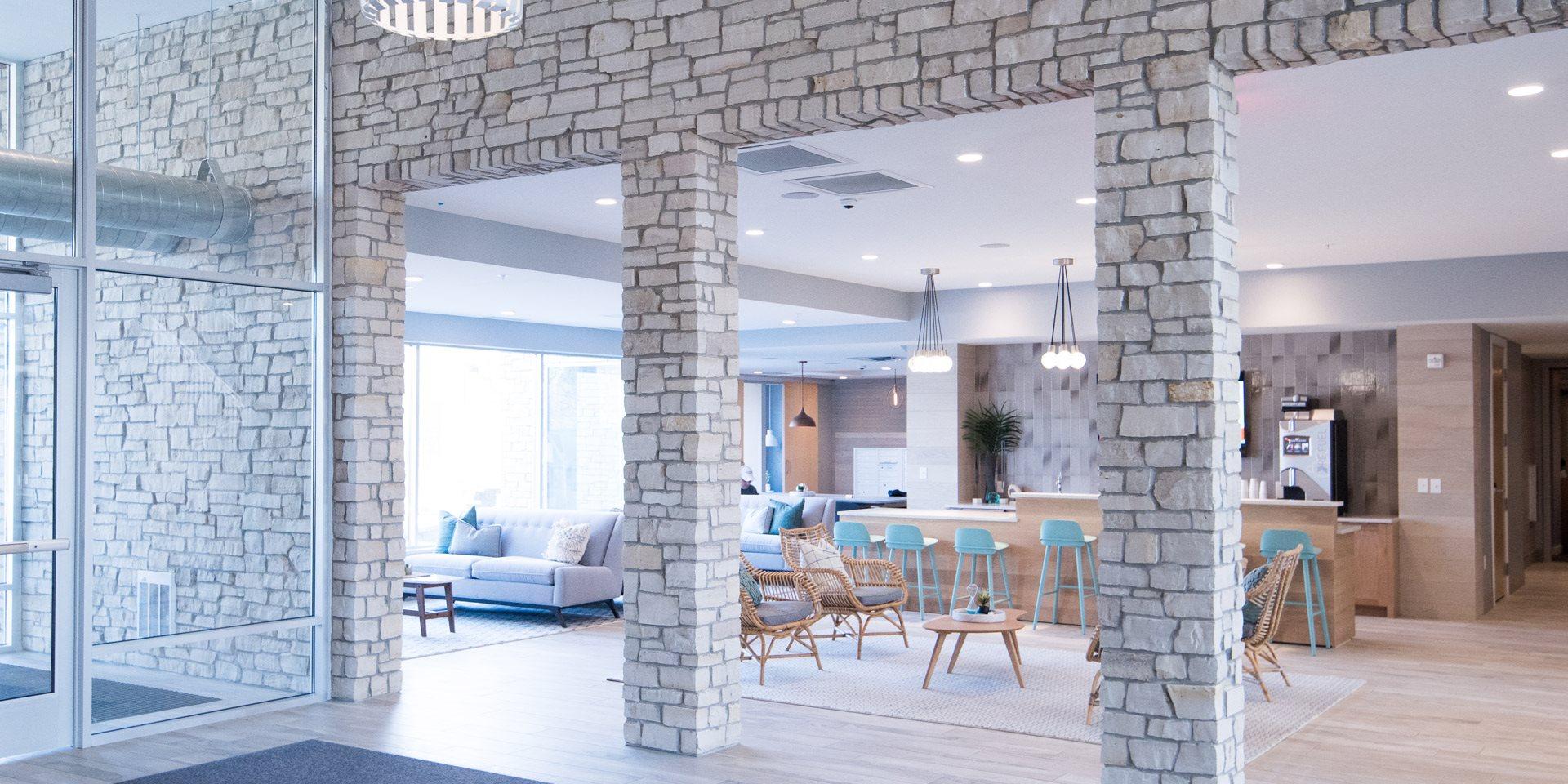 Talo Apartments Lobby