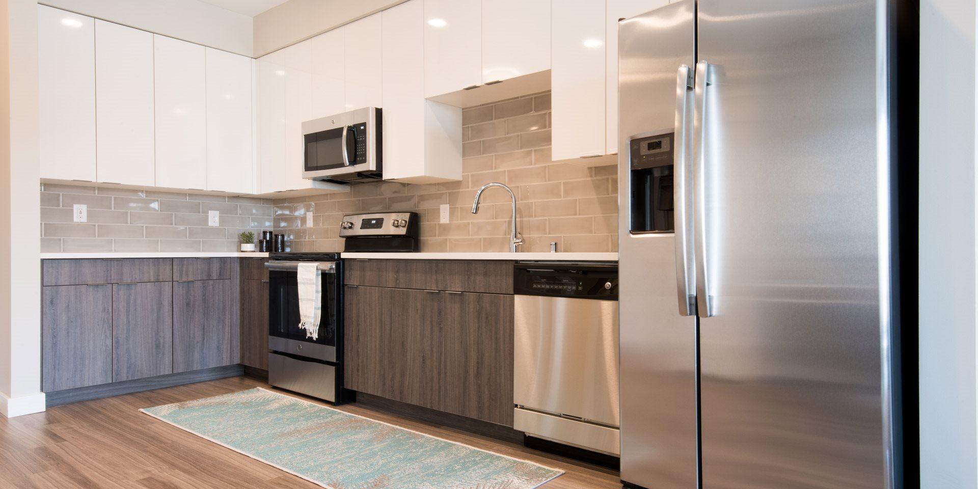 Talo Apartments Kitchen