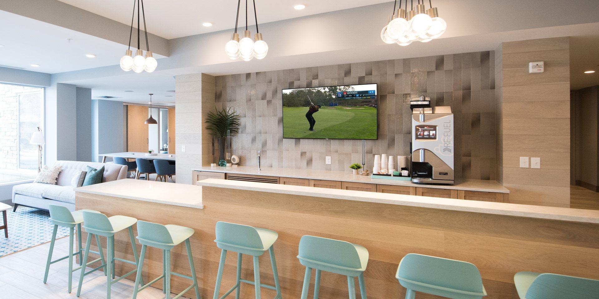 Talo Apartments Lounge & Coffee Area