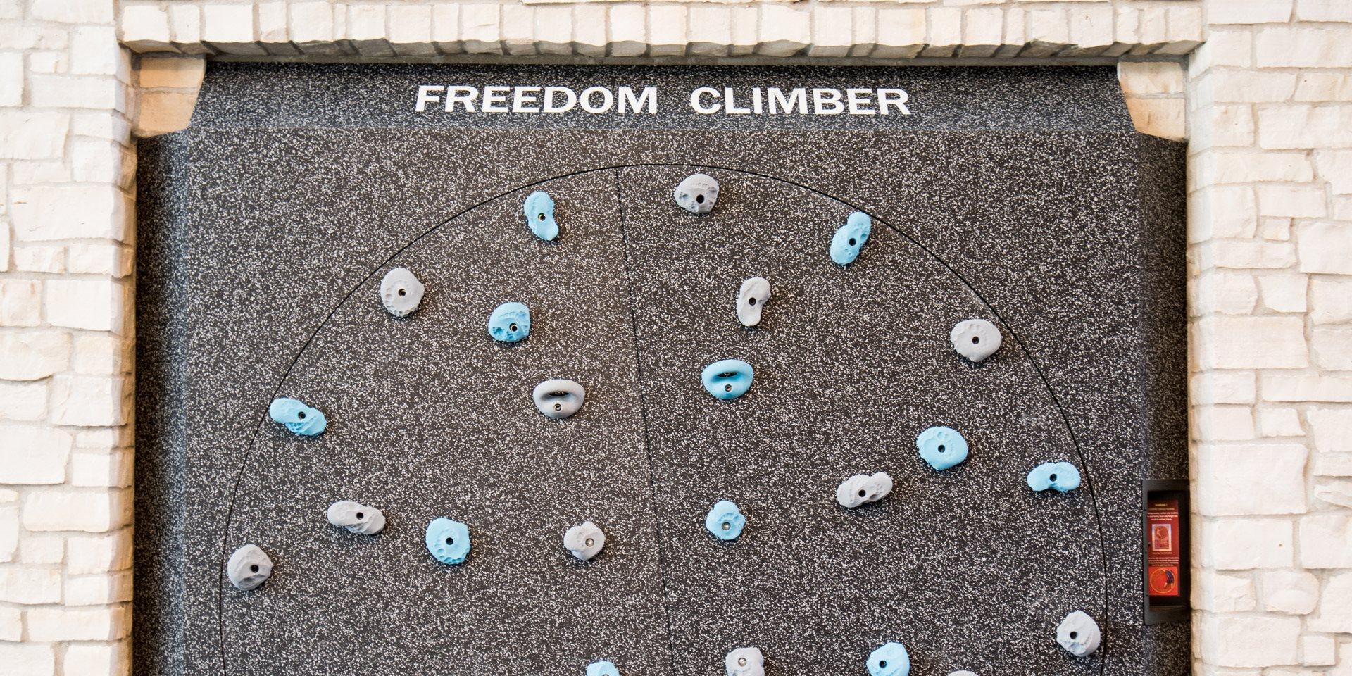 Talo Apartments Rock Climbing Wall