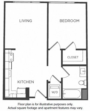 A2 Floorplan at Mission Bay by Windsor