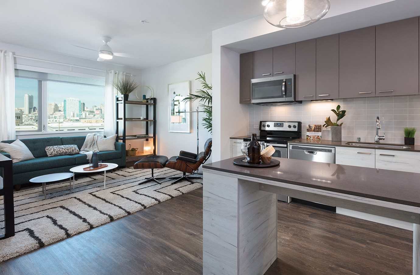 Modern Kitchen at Mission Bay by Windsor