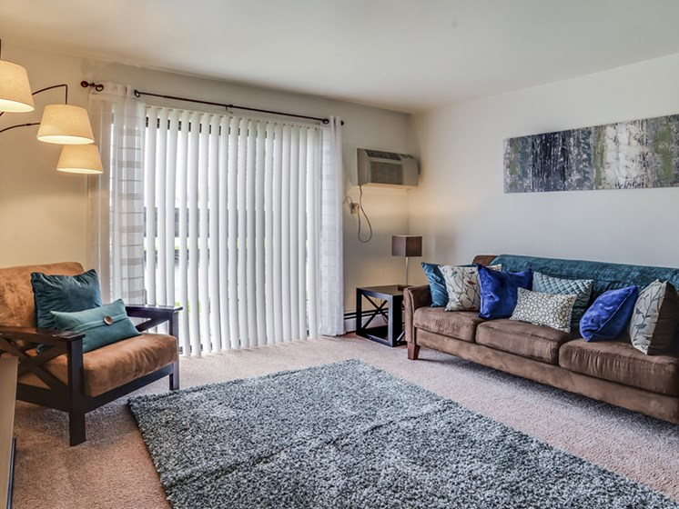 Huge Apartment Living Rooms available at The Orchards at Four Mile