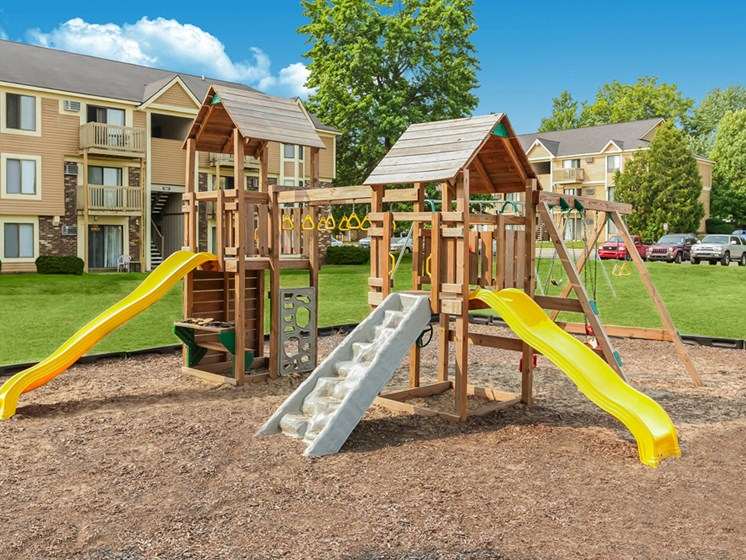 Large Playground at The Orchards Apartments in Grand Rapids, MI