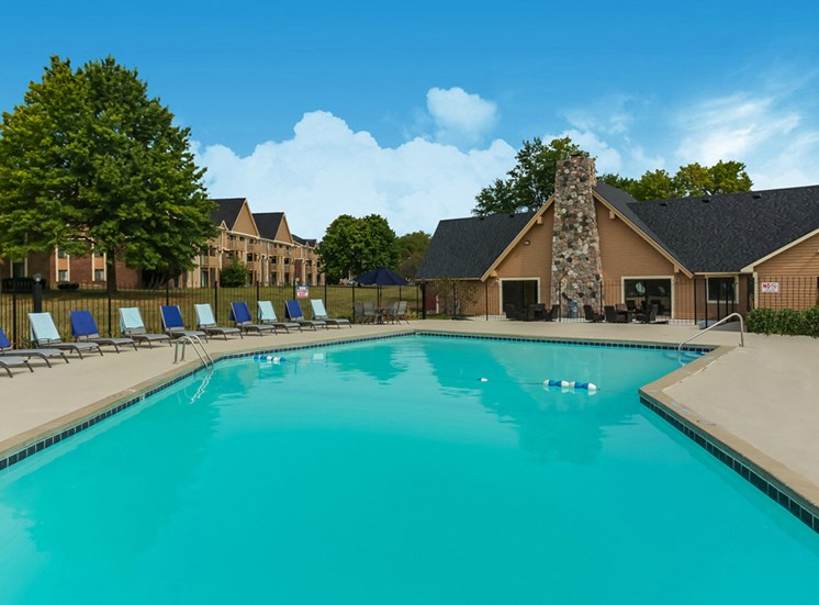 Large Swimming Pool available at The Orchards at Four Mile
