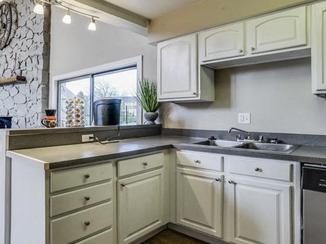 Beautiful Kitchens at The Orchards of Four Mile Apartments in Grand Rapids, MI