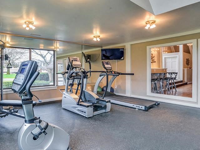 Modern Fitness Center Available at The Orchards
