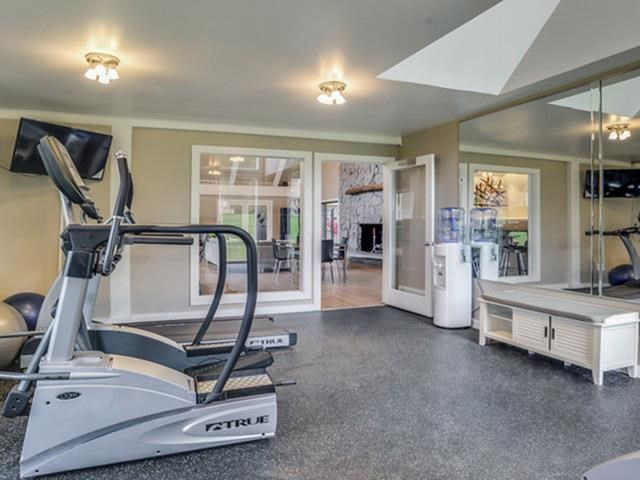 Modern Fitness Center at The Orchards Apartments