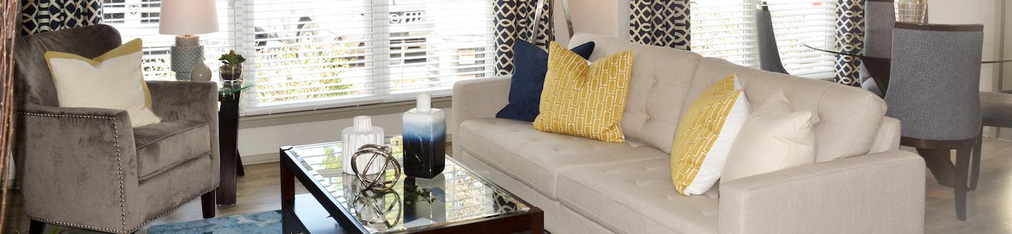 The Metropolitan Apartments In Augusta, GA 30909 Livingroom Banner Image
