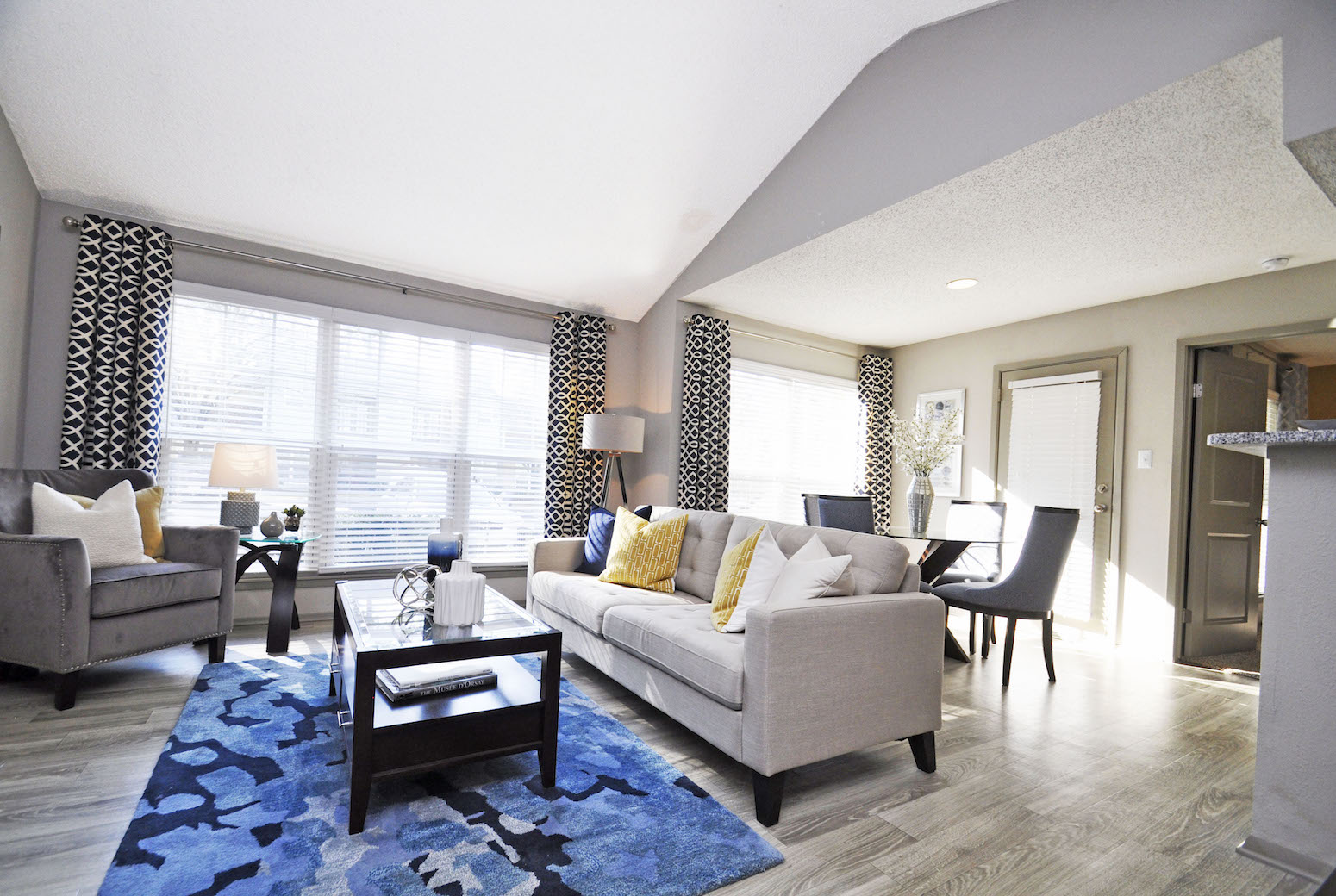 The Metropolitan Apartments In Augusta, GA 30909 Spacious Open Living Room