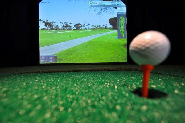 Golf Simulator at Metropolitan Augusta, in Augusta, Georgia