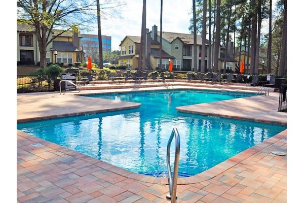 Resort-inspired pool at Metropolitan Augusta, in Augusta, Georgia