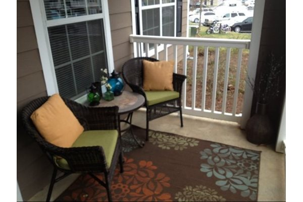 Legends at Oak Grove Apartment Homes Knoxville, TN 37918 Large Patio or Balcony