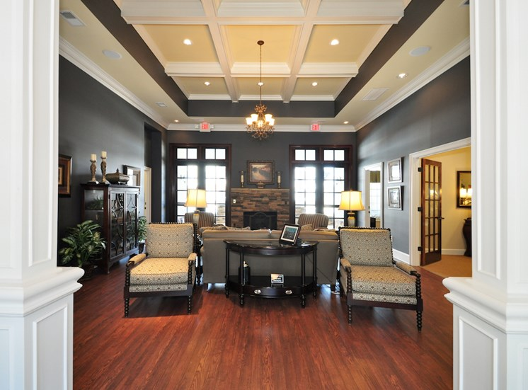 Legends at Oak Grove Apartment Homes Knoxville, TN 37918 luxurious resident clubhouse