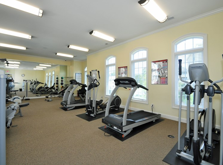 Legends at Oak Grove Apartment Homes Knoxville, TN 37918  24-hour state of the art fitness center