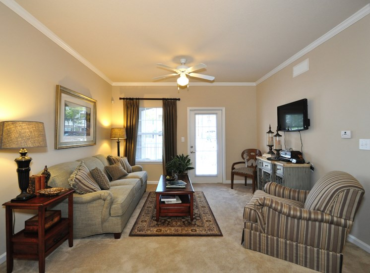 Legends at Oak Grove Apartment Homes Knoxville, TN 37918 cozy and comfortable living room