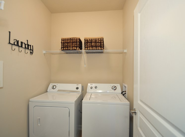 Legends at Oak Grove Apartment Homes Knoxville, TN 37918 washer and dryer connections in all homes